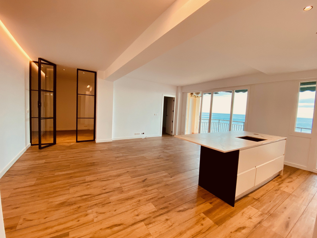 We are selling here a completely renovated BEACH FRONT apartment with open PANORAMIC VIEWS. The apar,Spain