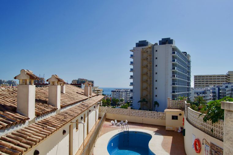 Ground Floor Apartment, Benalmadena Costa, Costa del Sol. 1 Bedroom, 1 Bathroom, Built 40 m², Terrac, Spain