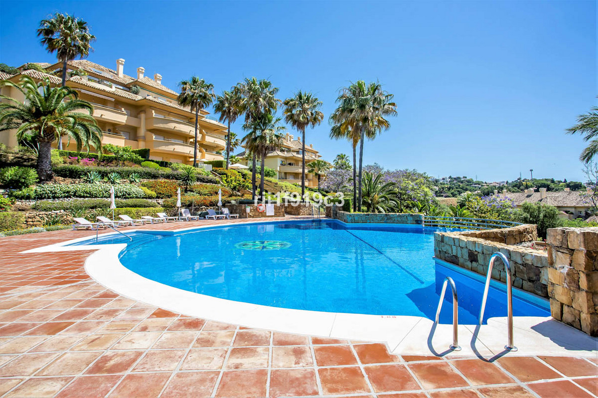 Middle Floor Apartment in the well known urbanization Elviria Hills, in Elviria, East of Marbella. I, Spain