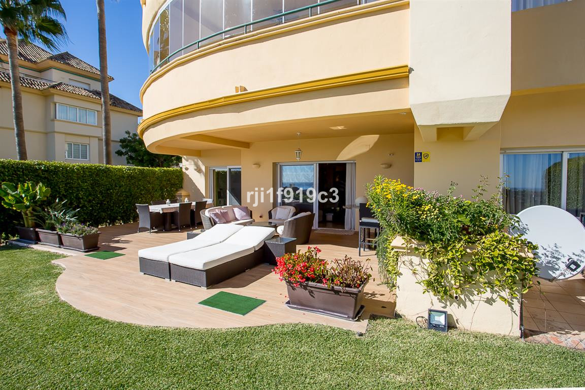 """Ground floor apartment situated in the well known urbanization of """"Elviria Hills"""", in the ,Spain"""