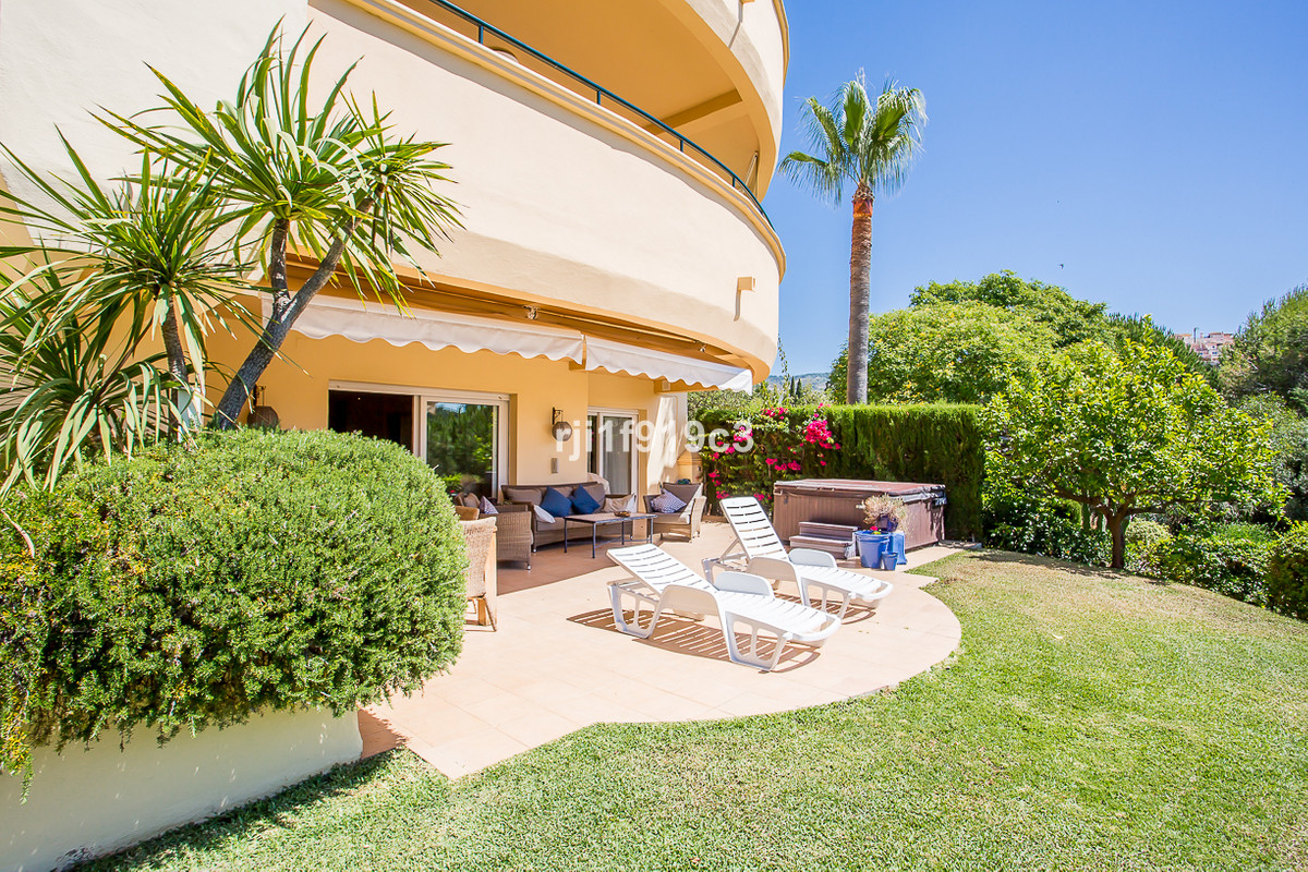 Beautiful ground floor apartment located in Elviria Hills, Marbella. This spacious apartment has rec, Spain