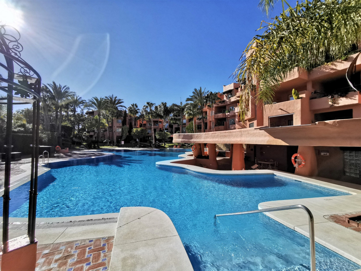 Well appointed 2 bedroom garden apartment with lovely open views. Set in Soto de Marbella, an exclus, Spain