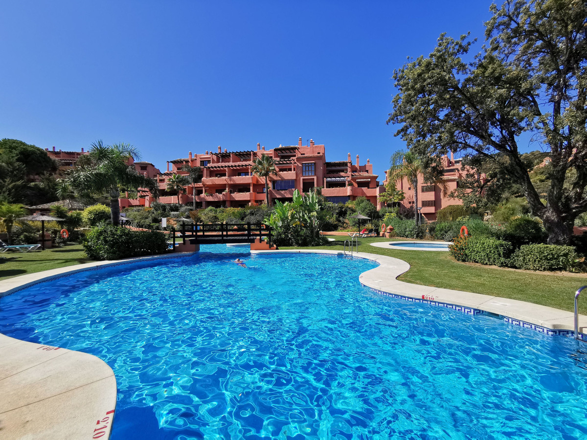 Well appointed 2 bedroom garden apartment with lovely open views. Set in Soto de Marbella, an exclus,Spain