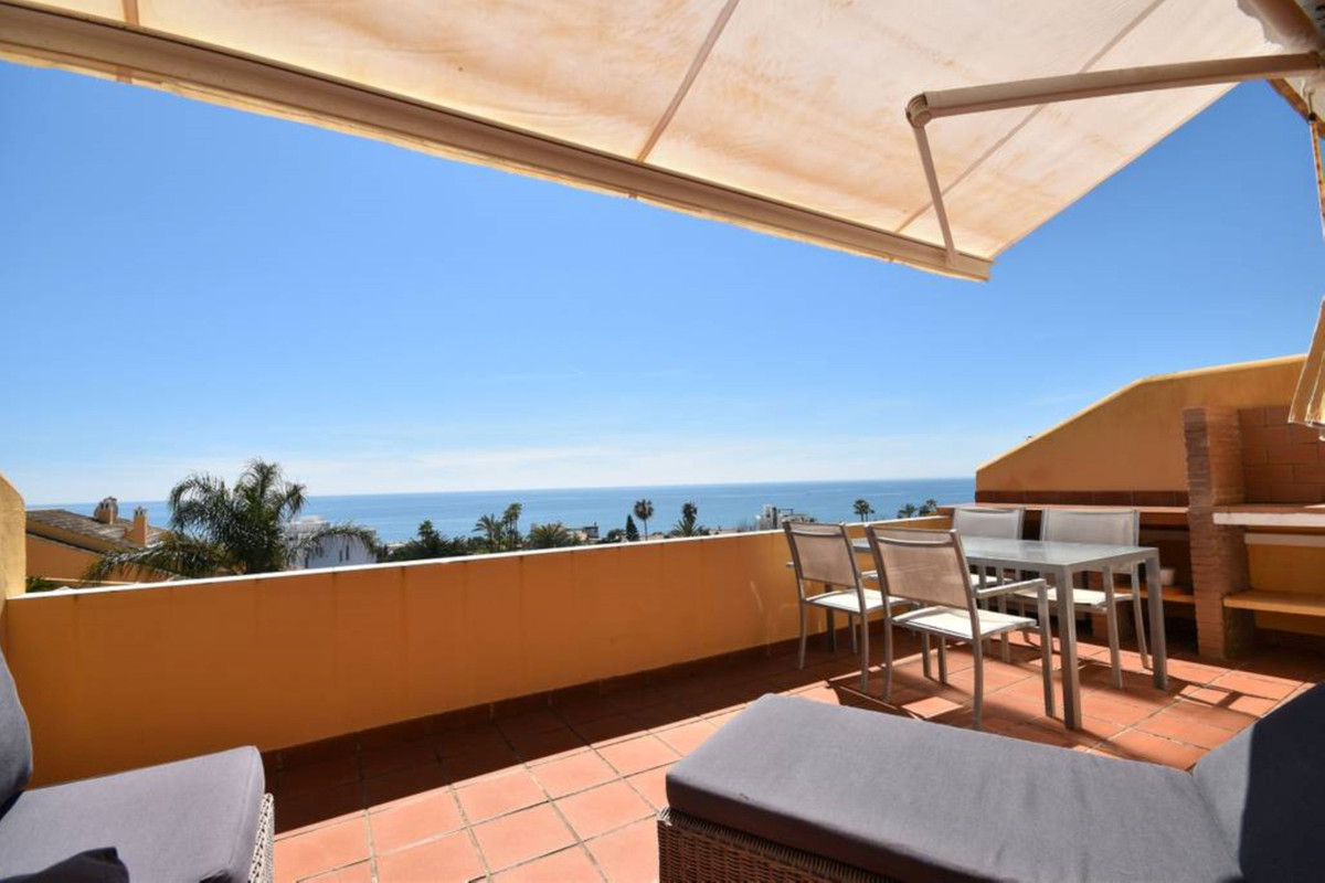Spectacular one bedroom beachside penthouse in Costabella ideally located a stone trow away to the b,Spain