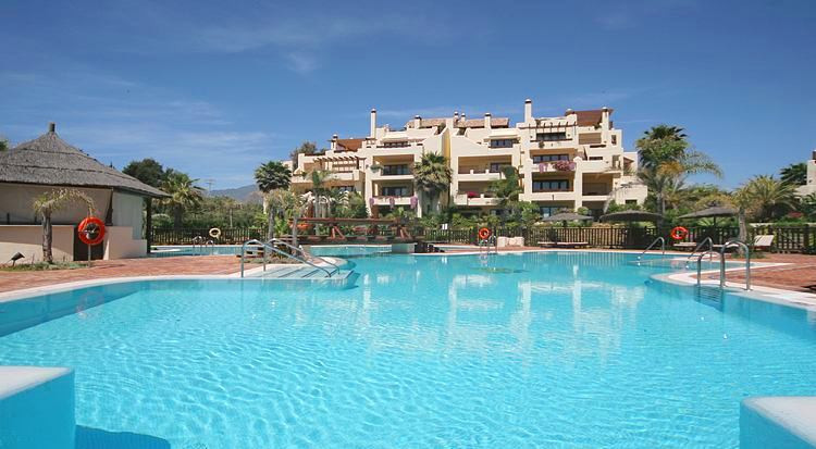 Was €568.000, Now €519.000! Luxury garden apartment set in a spectacular front line beach low densit, Spain