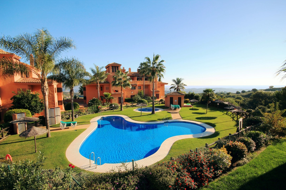 Well appointed garden floor apartment part of a beautiful golf complex situated in the exclusive La ,Spain