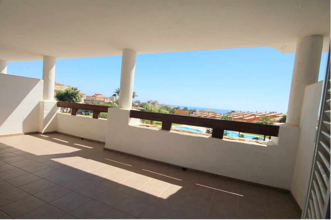 Lovely 2 bedroom 1st floor apartment with superb sea views located in a quiet residential area nearb, Spain