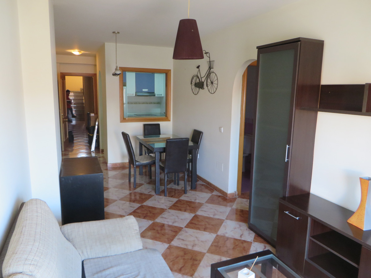 Apartment in the area of old coin road in Mijas Costa.  This second floor apartment has 2 bedrooms, , Spain