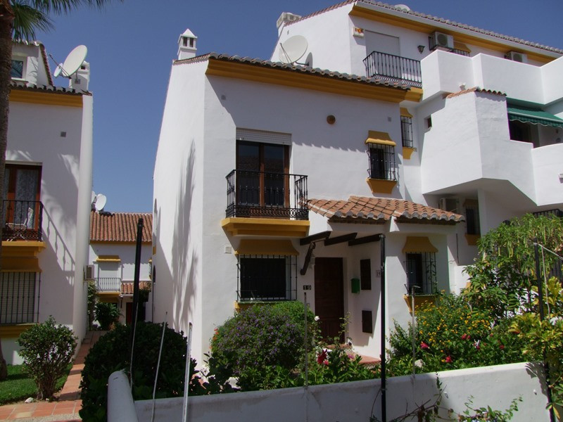 Charming Townhouse in Mijas Golf  is a very pretty pueblo style development of townhouses and apartm,Spain