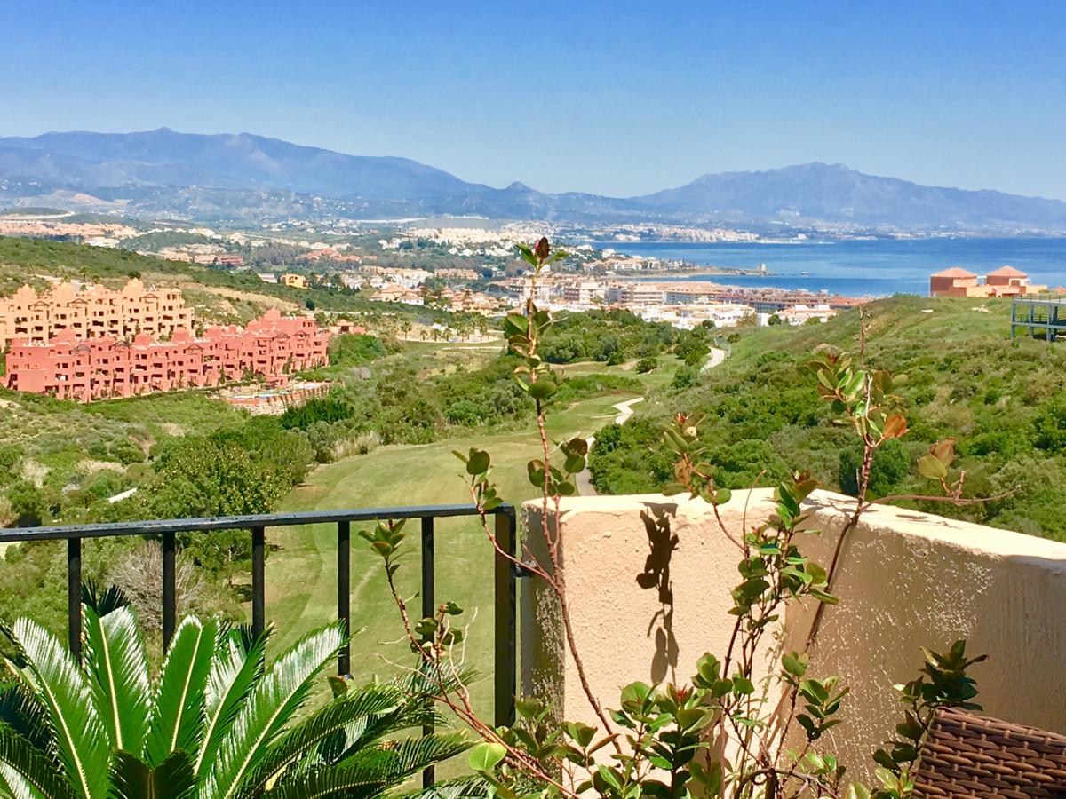 Bright and spacious well maintained three bedrooms duplex penthouse with amazing sea and golf views.,Spain