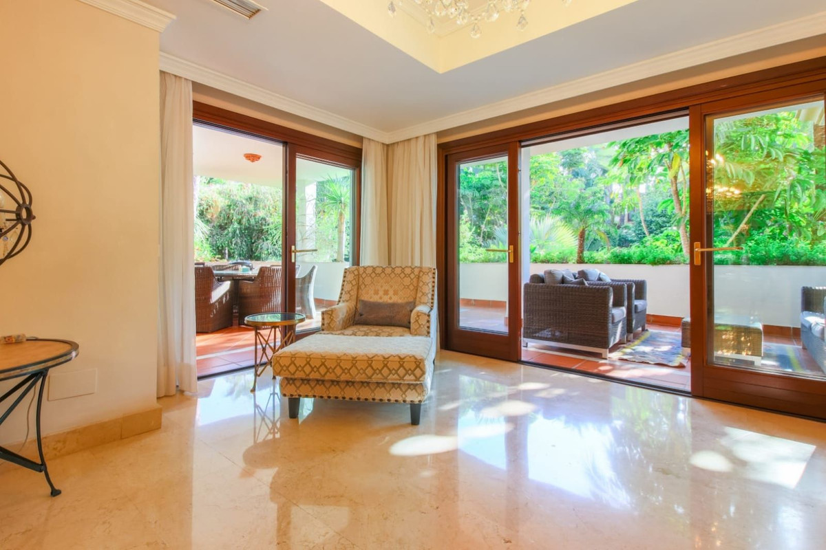 3 Bedroom Ground Floor Apartment For Sale Marbella