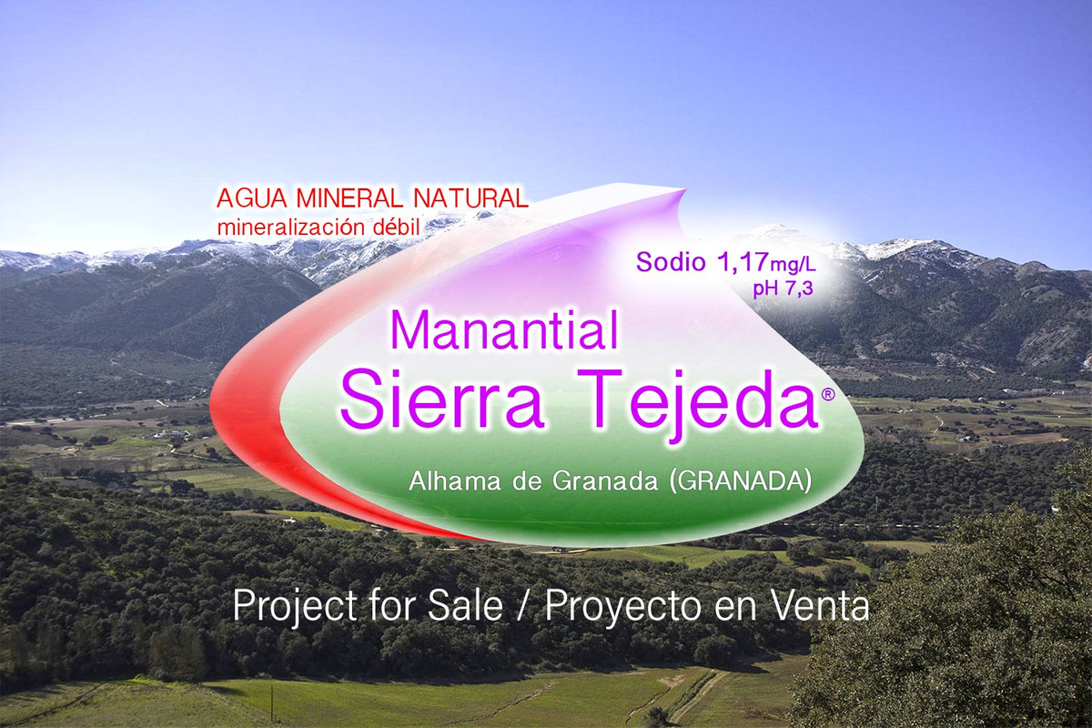Natural Mineral Water project for sale in Alhama de Granada - Andalusia (SPAIN), with permits and li, Spain