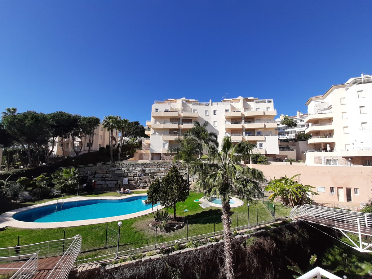 Well located Apartment,  at least 600 meters from the beach and shops. With sea views from the terra,Spain