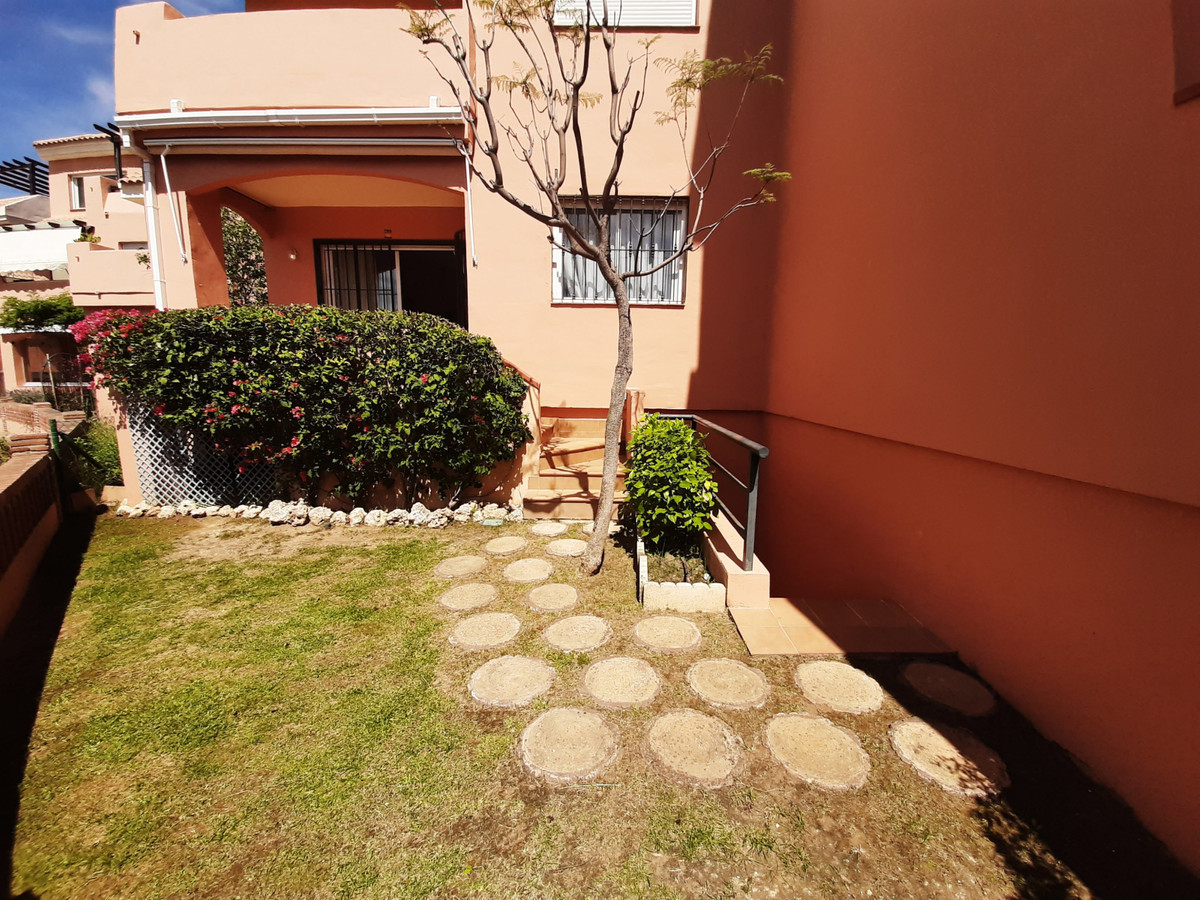 Ground floor apartment, very light with sea views, west facing, two bed and two bath, fitted kitchen,Spain