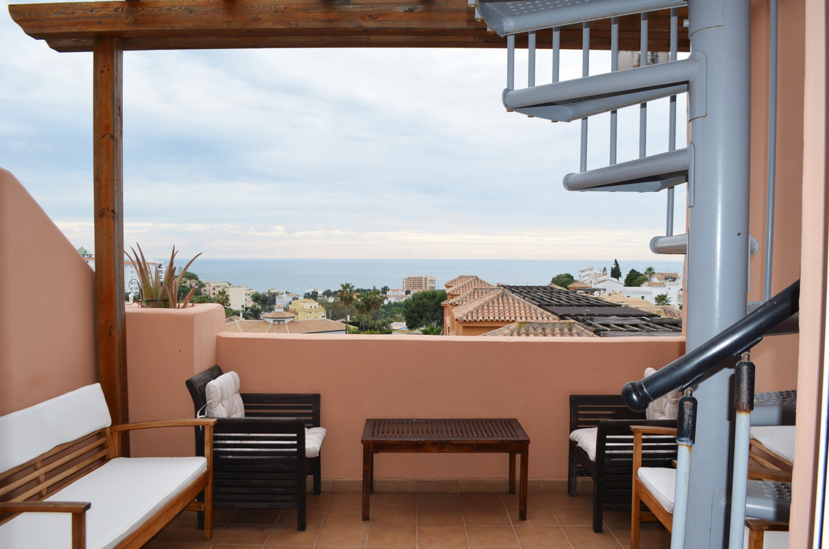 Nice and bright penthouse with incredible sea views, South West facing, 2 terraces (one  upstairs), ,Spain