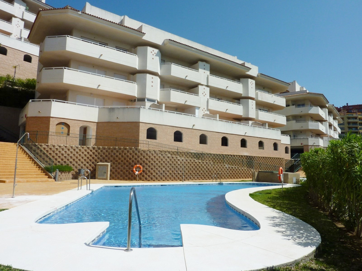 Nice and modern two bed and two bathroom apartment in the upper part of Calahonda in Mijas Costa wit, Spain
