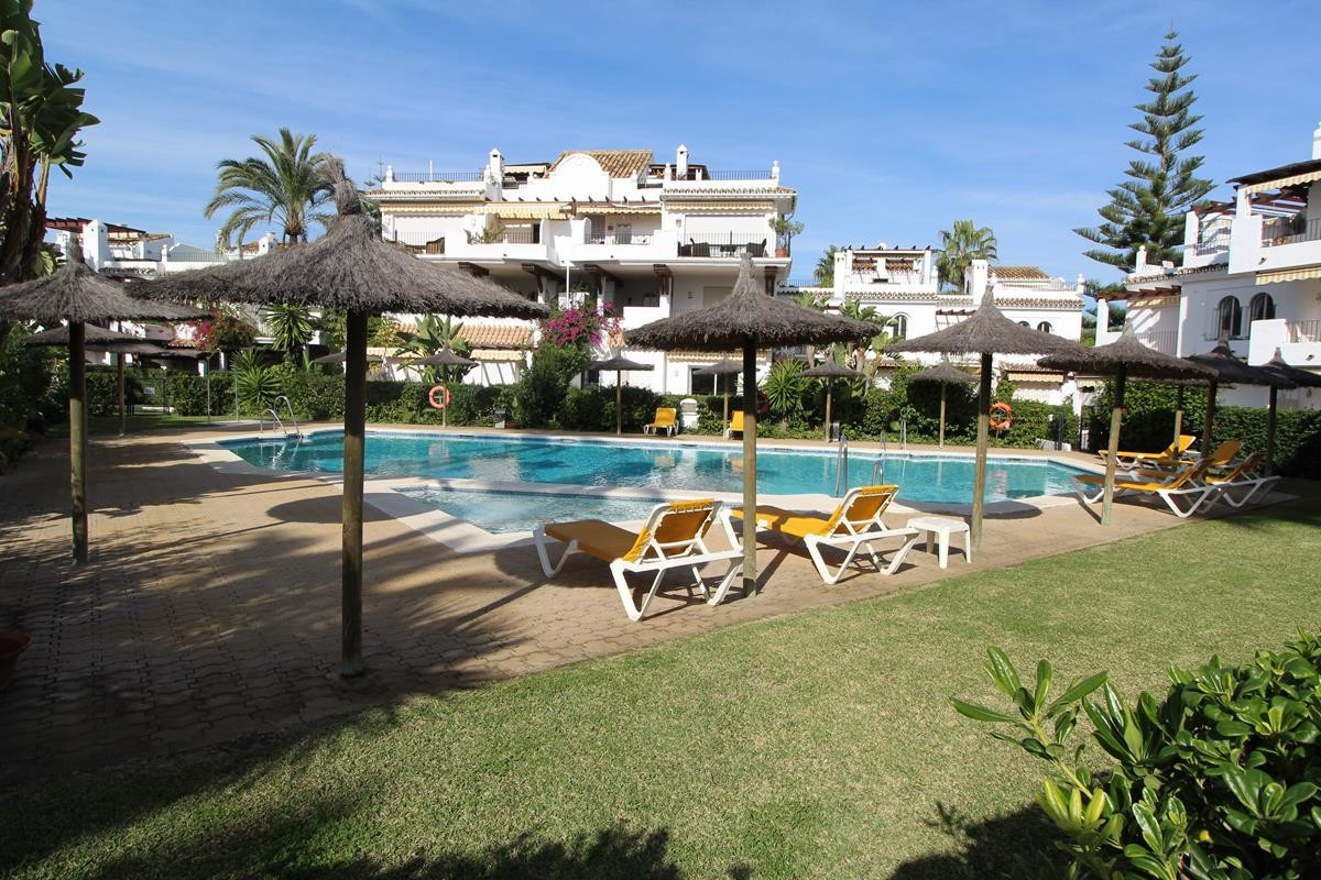 LOVELY TOWNHOUSE ON THE BEACH IN SAN PEDRO PLAYA  This very good size townhouse is located in the so,Spain