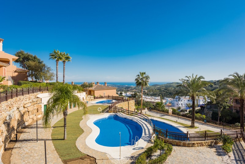 Penthouse for sale in La Mairena, Marbella East, with 2 bedrooms, 2 bathrooms and has a swimming poo, Spain