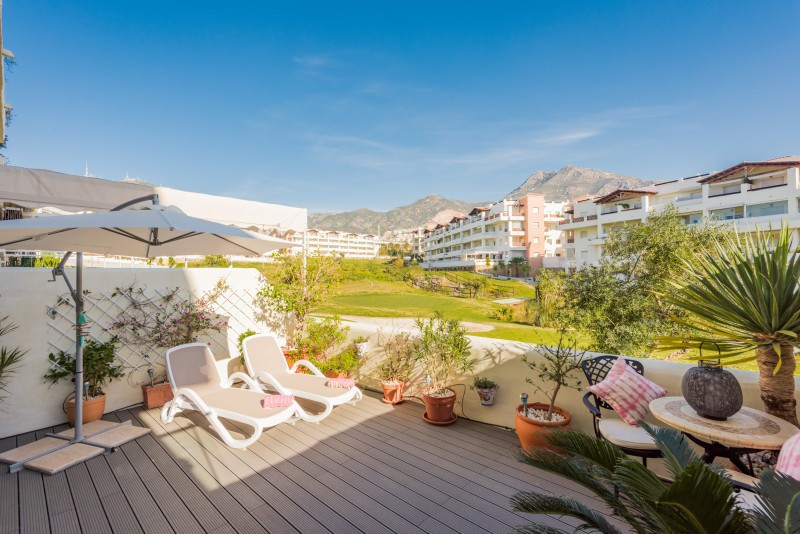 Ground Floor Apartment for sale in Benalmadena, with 2 bedrooms, 2 bathrooms and has a swimming pool, Spain