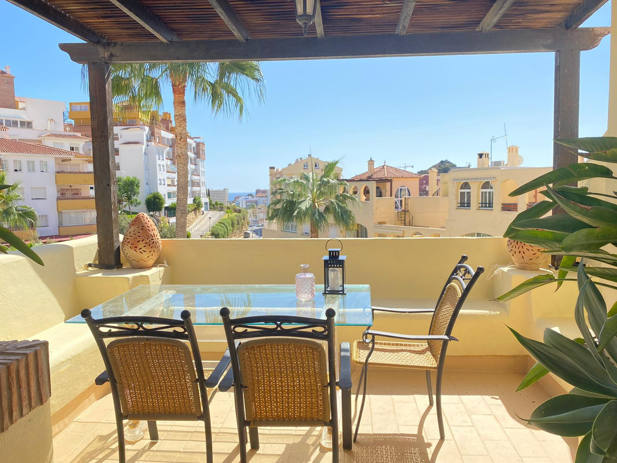 Penthouse for sale in Benalmadena with 2 bedrooms, 1 bathroom and with orientation south/west, with , Spain