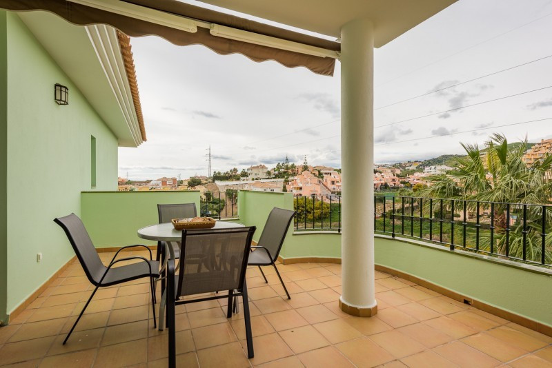 Apartment for sale in Riviera del Sol, Mijas Costa, with 3 bedrooms, 2 bathrooms and has a swimming , Spain