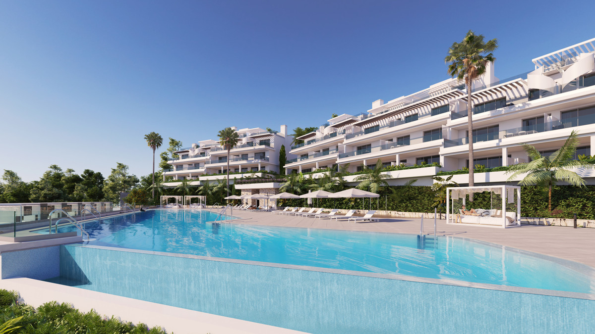 Apartment for sale in Cancelada, Estepona with 3 bedrooms, 2 bathrooms and with orientation south/we, Spain