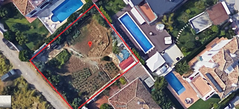 Plot for sale in Guadalmina Baja, San Pedro de Alcantara. Regarding property dimensions, it has 522 , Spain