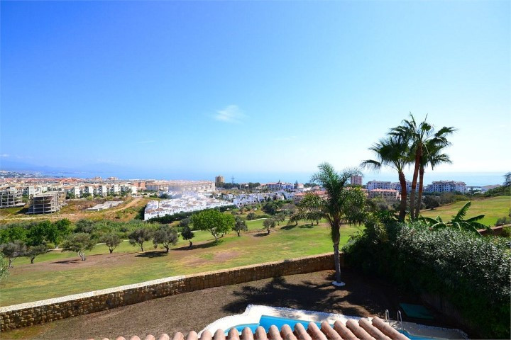This stunning frontline golf villa enjoys a beautiful balance of modern and traditional Andalucian a,Spain