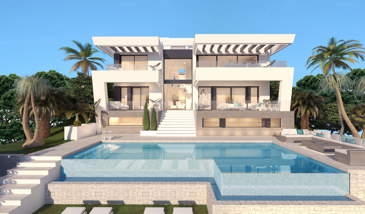 Off plan contemporary style villa located in Mijas Golf which boasts two magnificent 18-hole courses,Spain