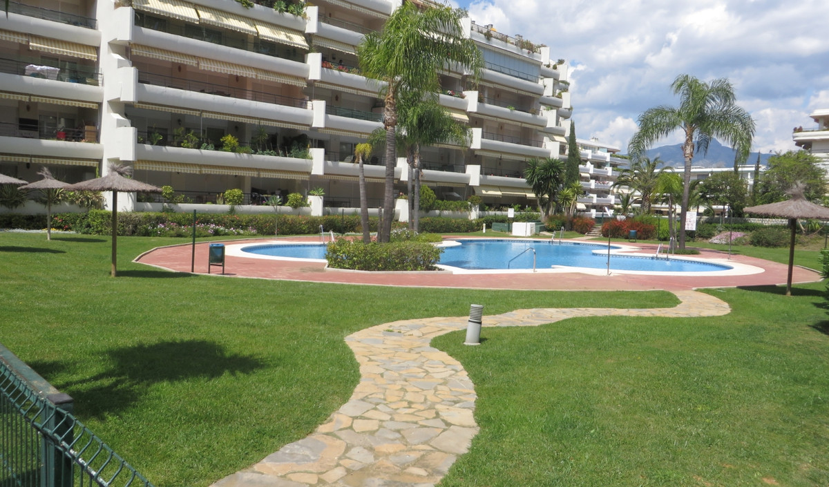 Impeccably presented apartment located on first floor level of a gated community In Guadalmina Alta.,Spain