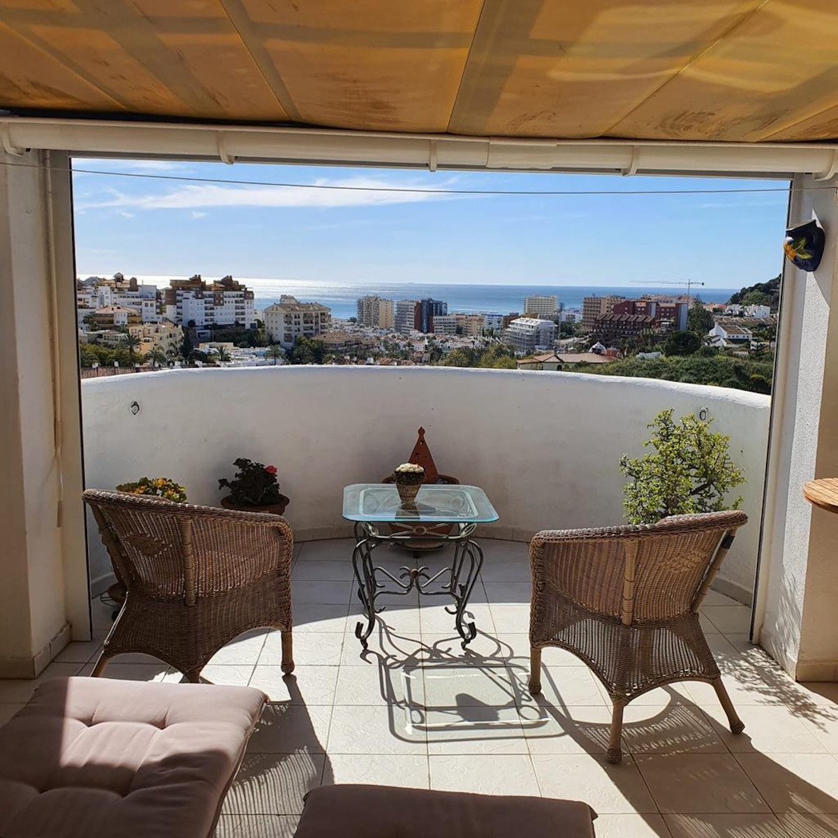 Lovely 2 bedroom apartment in Arroyo de la Miel with views of the Mediterranean. With lots of natura,Spain