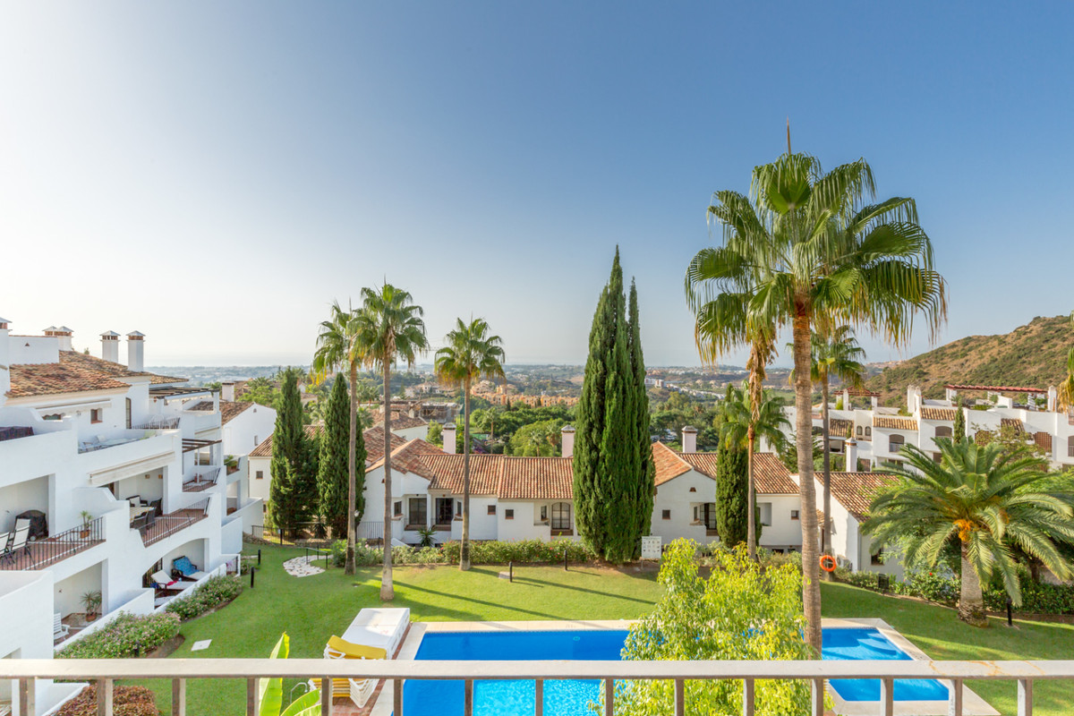 Fantastic sea views from this large townhouse.  The first development built at Los Arqueros Golf &am, Spain