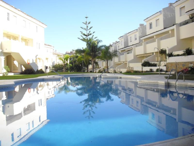 This is a lovely three bedroom duplex apartment distributed on 2 floors.  It has one full bathroom a,Spain