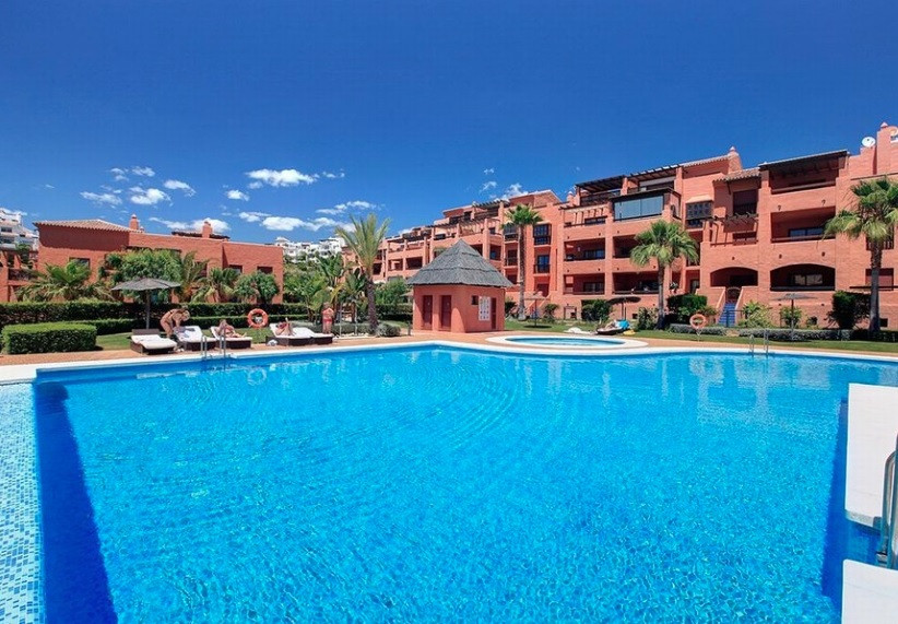 Luminous apartment for rent in Benahavis, Costa del Sol. It is located in a quiet and private develo, Spain