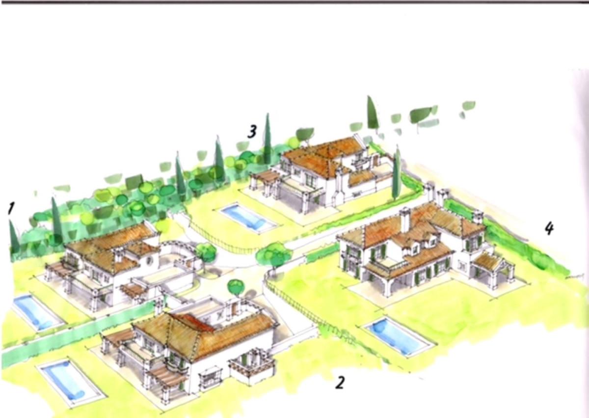 Tomtmark för bostäder