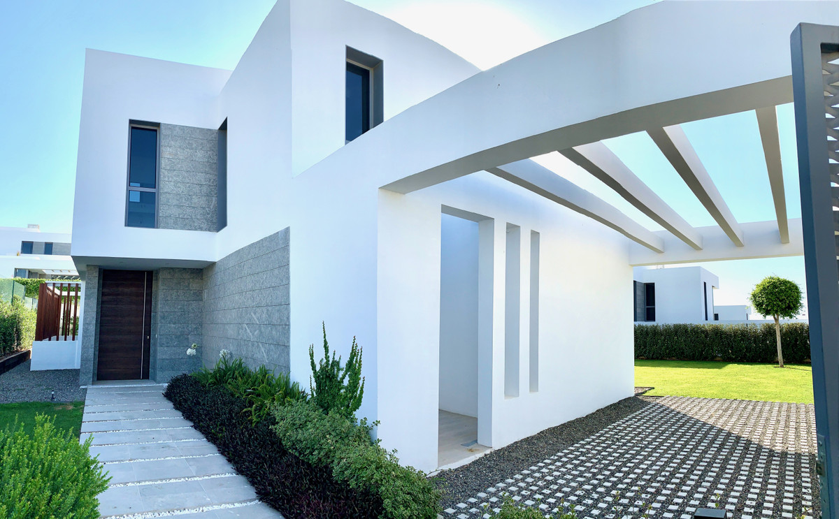 New built luxury villa is available for sale in the popular Syzygy project located in Cancelada. The,Spain