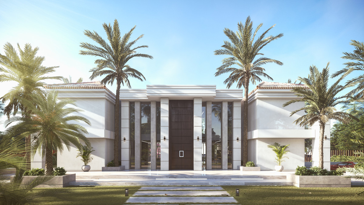 This modern luxury villa with unique concept integrating the classical Andalusian and contemporary d,Spain
