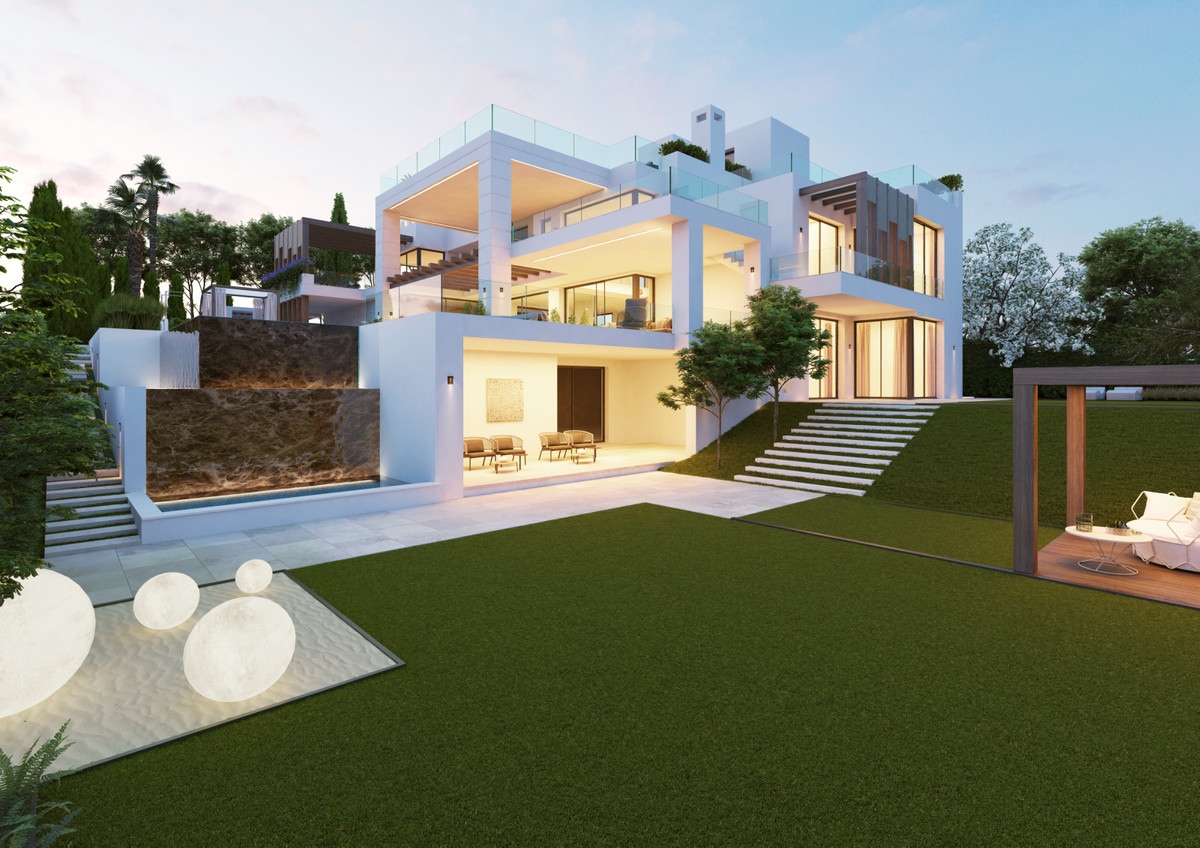 Situated in one of the most prestigious areas of the Costa del Sol, this luxurious, bespoke villa in,Spain