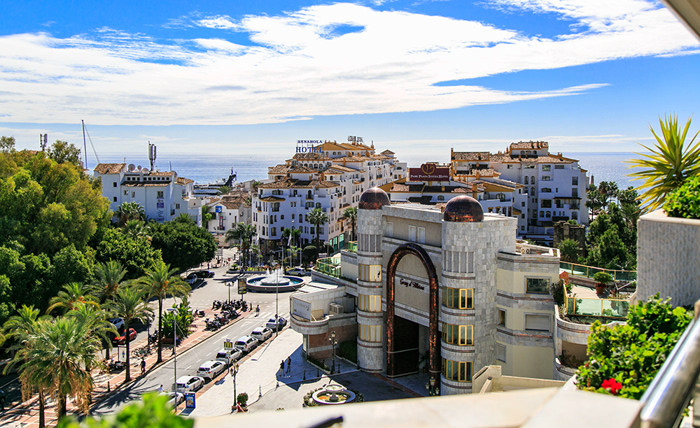 The best 5-bedroom penthouse in the famous complex Playas del Duque in Puerto Banus.,Spain