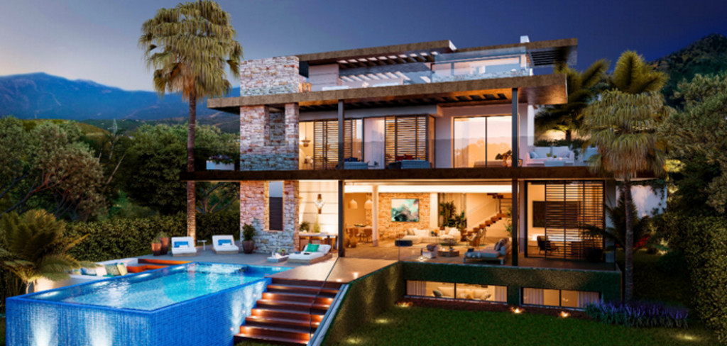 This unique project of villas, designed especially for you with an authentic philosophy of life refl,Spain