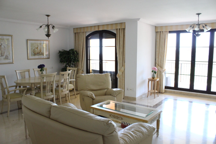 Beautiful apartment in Los Arqueros frontline to the Golf course with panoramic sea view from the bi, Spain