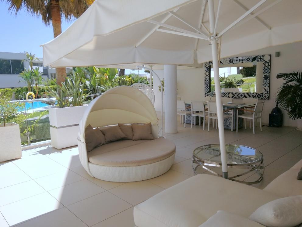 This modern property is situated in one of the most modern residential complexes in Marbella, called, Spain
