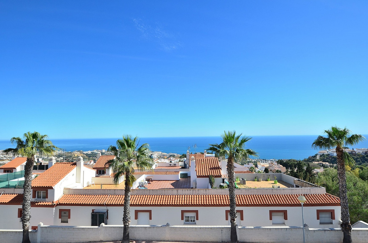 FANTASTIC TOWNHOUSE WITH AMAZING SEA VIEWS located in Benalmadena Pueblo. PRIME LOCATION just 350 mt, Spain