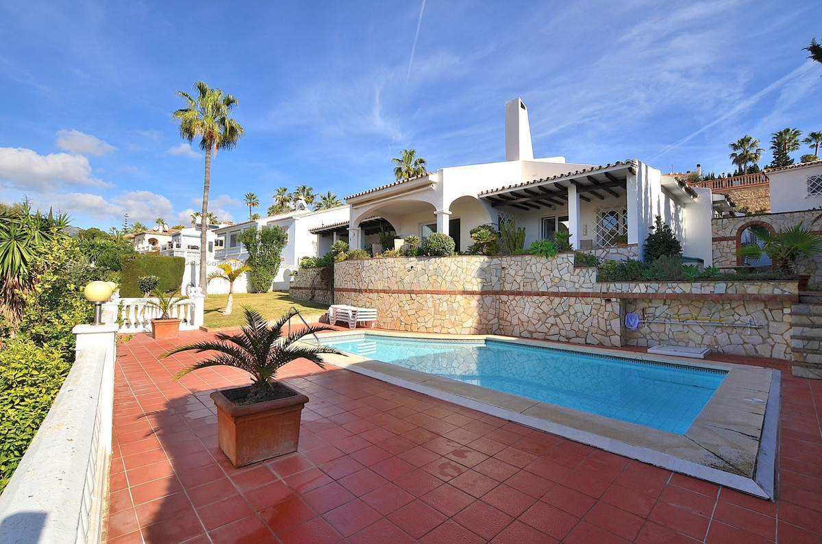 AWESOME ONE LEVEL VILLA located in Benalmadena Costa, next to the Torrequebrada Golf Course. PRIME L, Spain