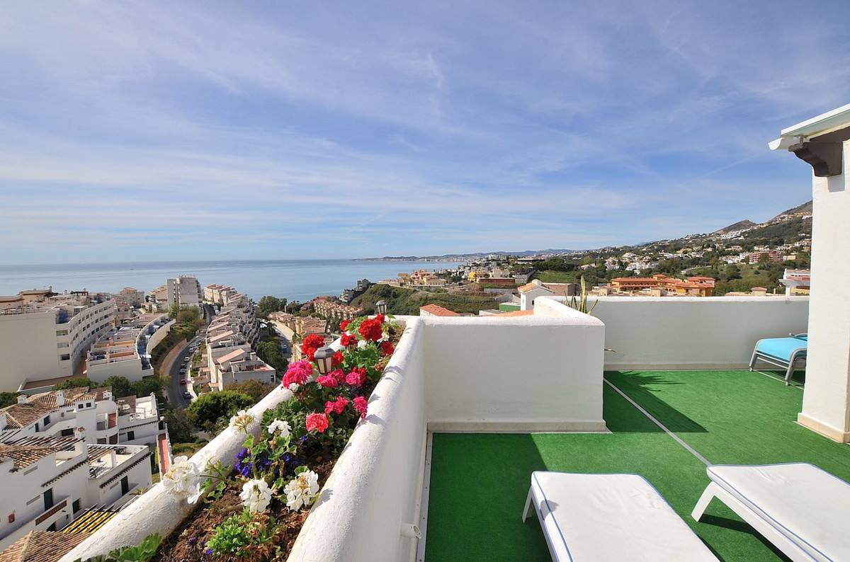 CORNER PENTHOUSE WITH BREATHTAKING VIEWS located in Torrequebrada (Benalmadena Costa).  3 LARGE TERR, Spain