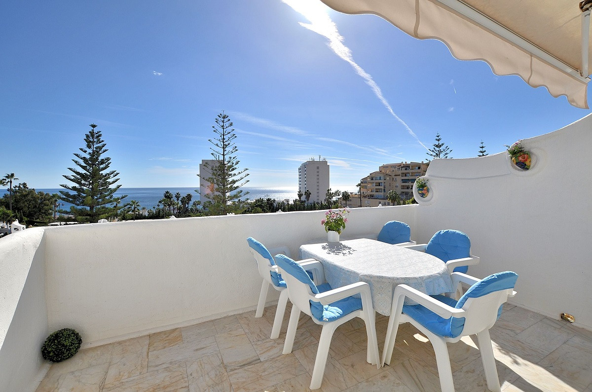 FANTASTIC DUPLEX TOWNHOUSE WITH SPECTACULAR SEA VIEWS located in Torrequebrada (Benalmadena Costa), , Spain