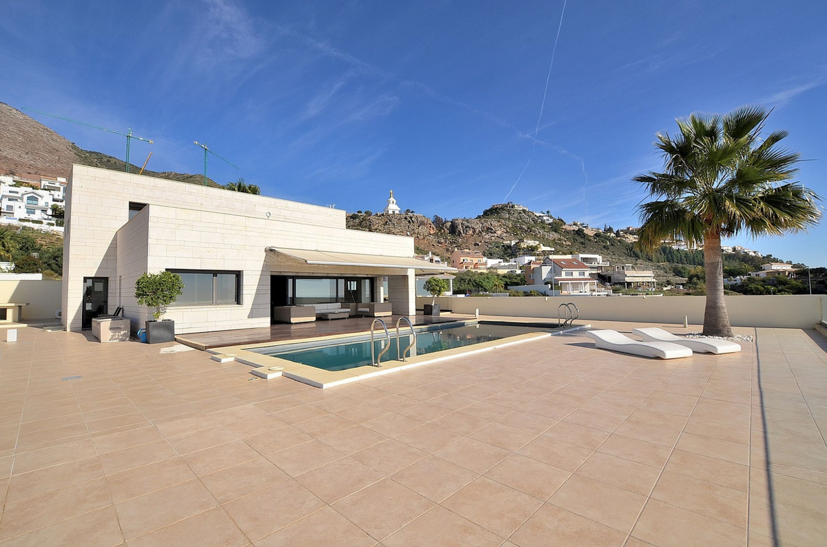 AWESOME MODERN STYLE VILLA WITH BREATHTAKING VIEWS located in Benalmadena Pueblo, in a peaceful urba, Spain