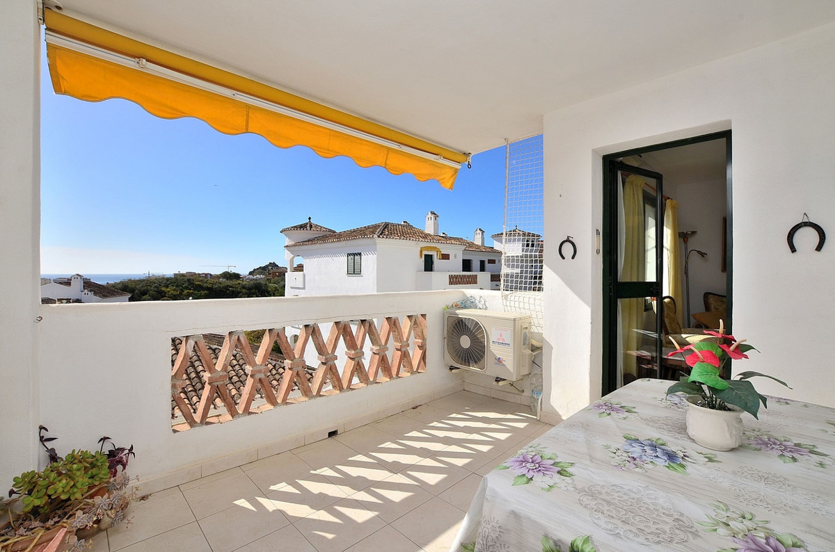 NICE APARTMENT WITH SEA VIEWS located in Benalmadena Costa, in wonderful Andalusian style complex wi,Spain