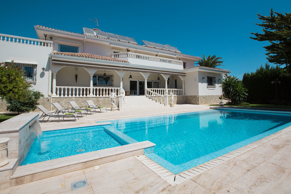 STUNNING VILLA WITH MEDITERRANEAN SEA VIEW  Gorgeous luxury villa located in Benalmadena Costa, Torr, Spain