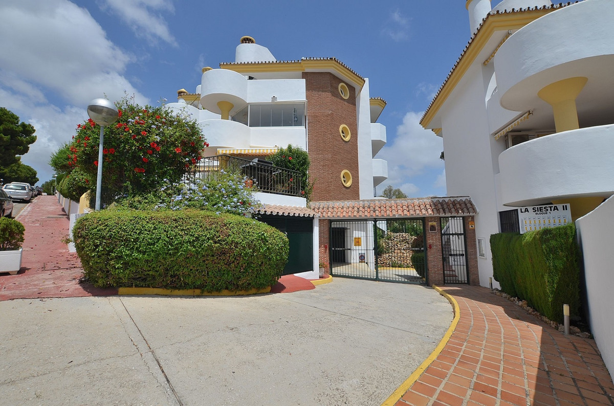 Underground parking for sale located in Sitio de Calahonda urbanization (Mijas Costa) in La Siesta I, Spain